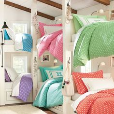 Suite Dottie Applique Duvet Cover + Sham | PBteen
