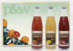 Pemberton & Whitefoord (P&W) – London NW1, UK | Fresh & Easy Italian Soda | 2013 #soda #drink #italian #italy #packaging #fresh #easy #design #agency #london