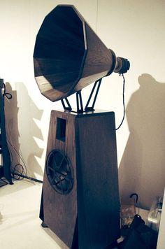 Oswald Mills Audio Speaker, ICFF - NYC Design Week 2013 - Nalata Nalata