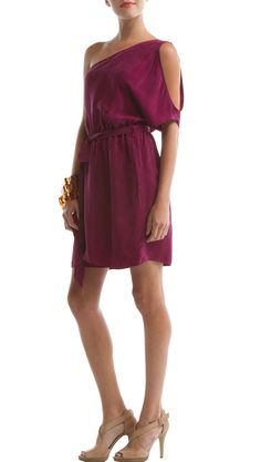 by Eco Skin  Brisbane Dress, Magenta Purple