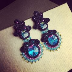 Black and Colors earrings