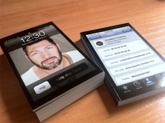 iPhone Business cards !