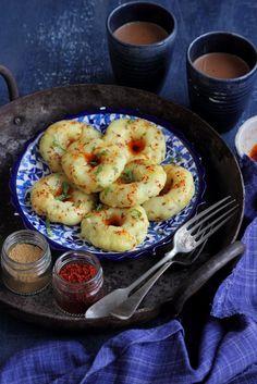 Breakfast cups recipe desserts new Ideas Veg Recipes, Indian Food Recipes, Vegetarian Recipes, Snack Recipes, Cooking Recipes, Recipies, Veg Starter Recipes, Gujarati Cuisine, Gujarati Recipes