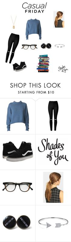 """Casual friday"" by perfect-queen on Polyvore featuring interior, interiors, interior design, home, home decor, interior decorating, TIBI, Vans, 7 For All Mankind and Cutler and Gross"