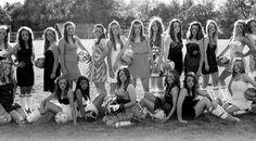 Team / Group Portrait / Photo / Picture Idea - Girls Soccer - Dresses