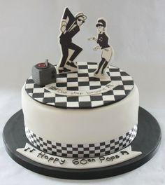 Dancer Cake, Ska Music, Music Themed Parties, Cake Logo, Rude Boy, Cake Stuff, Deco, Themed Cakes, Puddings