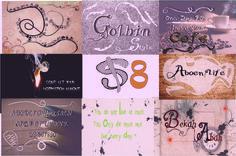 Font Bundle Vintage by AD Desain on @creativemarket