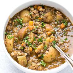 Easy Lentil Potato Soup Recipe - Cooking LSL