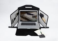 Mobile Workstation & Laptop Bag Rolled into One | THE OBJECT