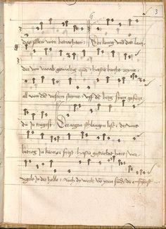 Sequentia 'Ave praeclara', Teutonicis verbis Erffordie compillatus 1492  Cgm 7351  Folio 9