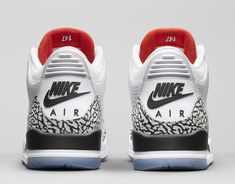 timeless design b8ae0 d995b The Air Jordan 3  White Cement  NRG Celebrates MJ s Jump From the Free Throw