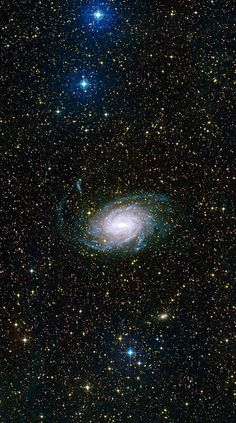 Galaxy NGC 6744 Type:Spiral Distance: 30 million light years Constellation: Pavo Credit: ESO