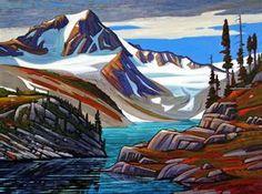 """Mount Tatlow,"" by Nicholas Bott - oil Canadian Painters, Canadian Artists, Landscape Art, Landscape Paintings, Landscapes, Mountain Art, Mountain Paintings, Paintings I Love, Western Art"