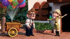 Carl & Ellie, adventurers