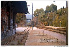 Gare de La Ciotat , Bouches-du-Rhône , l'embranchement marchandises - une photo…