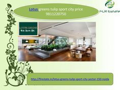 Lotus greens tulip sport city 9811220750 price layout