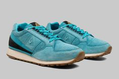 Le Coq Sportif x Footpatrol Eclat  Le Coq Sportif have made a large resurgence over the past few years and given some of the big boys a run for their money. A large part of that began when they collaborated with Footpatrol in 2012 on the classic runner Eclat model. They returned again 2013, continuing with the same model and taking inspiration for some tasty treats.