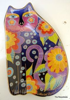 Laurel Burch for Wine Things Unltd. Retired design!! Make an offer!