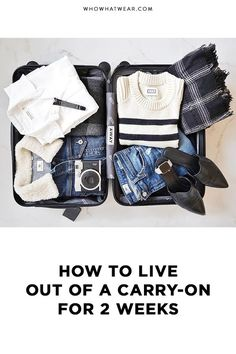Packing can be tricky, especially when you only have a carry-on. Here are my big tricks for pulling it off.