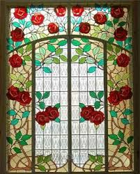 Museu d'Art de Cerdanyola Vitrall de les roses
