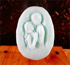 Lovers Soap Bar - A Beautiful Couple in Love, Great Favor for Engagement Party, Wedding, Bridal Shower