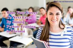 Enroll You in #python #programming to achieve your career quickly...Join #python #training at #TISacademy......http://www.traininginsholinganallur.in/python-training-in-chennai.html#utm_source=pinterestpost&utm_campaign=python&utm_medium=post&utm_content=kavi-march-2017 #pythontraininginchennai #pythontraining #pythononlinetraining #pythoncourses #pythontraininginstitutes #bestpythontraininginstitutes