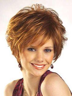 Short Edgy Ginger Hair for Over 40