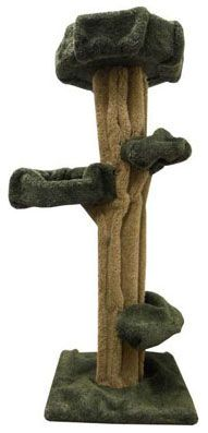 This sculptured cat tree with unique design has it all - solid wood, sturdy, stable, 3 cat perches and large top cat nest. Palm Tree Crafts, Christmas Tree Crafts, Christmas Tree Decorations, Make A Family Tree, Family Tree Wall, Celtic Tree Tattoos, Cat Tree Condo, Tree Furniture, Miniature Trees