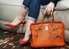 f9b985eef Birkin Hermès A bolsa por si só já é um acessório que a maioria das mulheres