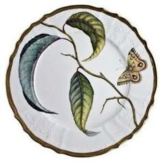 Anna Weatherley Antique Forest Leaves 5 Piece Place Setting