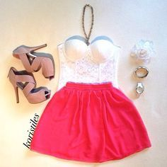 strapless dress ❤