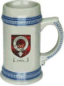 Cassillis Clan Badge / Tartan Stein