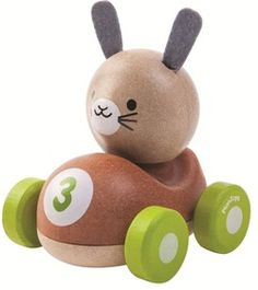 Plan Toys Bunny Racer $12.99 - from Well.ca