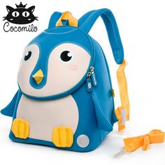 29ef300210 Cocomilo 3D Animal Backpacks Anti-lost Children School Bags Kindergarten  Backpack Kid Small Bag For Boys Girls mochila escolar Review