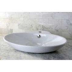 @Overstock - Update the look of your bathroom with this oval bathroom sink. This sleek vessel sink is made of white vitreous china that is stain-resistant, easy to clean, and germ-resistant. The elegant and simple design of this sink will complement any decor.http://www.overstock.com/Home-Garden/Oval-Vitreous-China-Vessel-Bathroom-Sink/6535393/product.html?CID=214117 $101.99