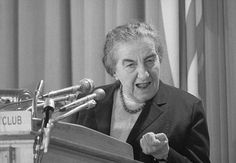 World's Most Powerful Women 7. Golda Meir, Prime Minister of Israel