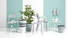 Kies deze lente voor pastel! #bloempot #tuinstoel #tuin #tuinmeubelen #pastel #kwantum #tuintrend