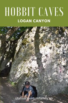 The Hobbit Caves in Logan Canyon are a fun stop in the canyon or on the way to Bear Lake. There are fun small caves the kids will love, and a waterfall! Utah Vacation, Vacation Days, Utah Camping, Colorado Hiking, Utah Adventures, West Coast Trail, Logan Utah, Utah Hikes, Ice Climbing