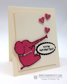 Stampin up stampinup pretty order online henry says valentine day card idea spring catalogs