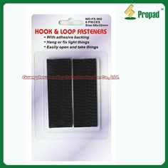 Hook & Loop Velcro Tape/ Hook or  Loop Fasten Tape/Adhesive Fasten Tape can use inddoor and outdoor to fix or fasten things. Such as use on tools, photo frame, rain coat, clothes, handbag, window curtains, outdoor tent, moquito net, small appliable accessories. With adhesive backing for velcro tape. For more household accessories at www.gzprodigy.com.
