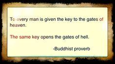 Buddhist proverb. Possible future tattoo. In Arabic.