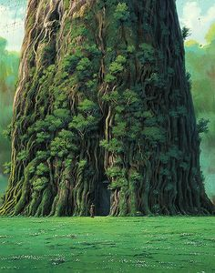 viage:  Cover art from Hayao Miyazaki's The Art of Laputa
