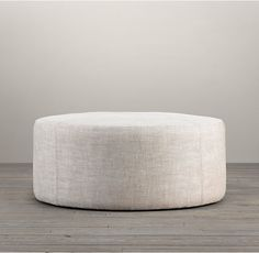 "36"" Cooper Upholstered Round Ottoman  many fun color options.  $590-930."