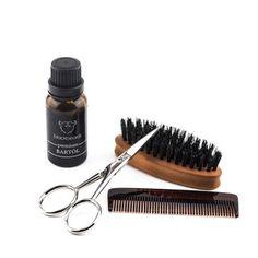Tägliche Bartpflege kann so einfach, schlicht und individuell sein. Mit unserem Bartpflege Set Premium bist du bestens gerüstet und gibst deinem Bart täglich das, was er braucht: Mindestens ein gutes Bartöl, eine Behandlung mit Kamm und Bartbürste und ein Nachstutzen der Barthaare. #Bartpflege #Bartöl #Bartbürste #Bartkamm #Bartschere Onlineshop: blackbeards.de