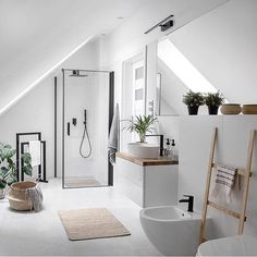 Indian Home Interior Living Room Design Ideas: Tips for choosing style, Decoration and Furniture Bad Inspiration, Bathroom Inspiration, Interior Inspiration, Bathroom Inspo, Master Bathroom, Bathroom Ideas, Nordic Interior Design, Modern Interior, Home Interior