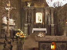 carved salt chapel in the salt mine Wieliczka, Poland The Places Youll Go, Places To See, Places Ive Been, Beautiful World, Beautiful Places, Architecture, Where To Go, Old Houses, Trip Planning
