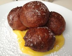 At The Cookshop, New York City - hot beignets made with with DiPalo ...