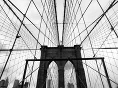 Steel cabweb, NYC Basque Country, Urban Life, Bilbao, City Lights, Brooklyn Bridge, New York City, Nyc, Steel, Travel