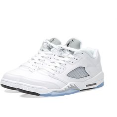 size 40 21db1 4f7fc Nike Air Jordan 5 Retro Low GS ( 110) ❤ liked on Polyvore featuring men s