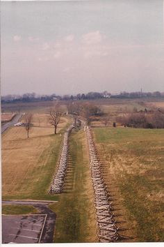Bloody Lane from the observation tower, Antietam Battlefield, more humbling even than Gettysburg....bloodiest day of battle in American history.